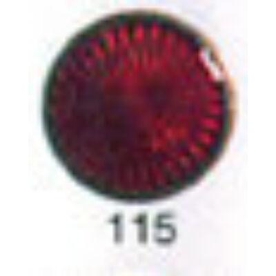 10115 piros transzparens zománcpor