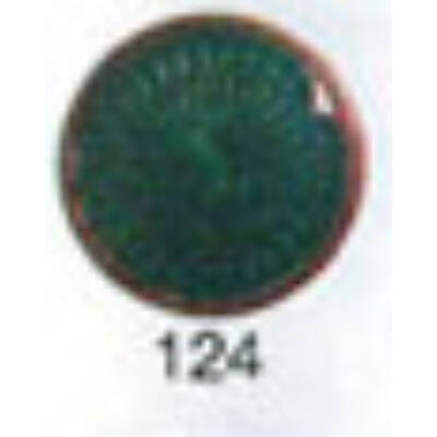 10124 fűzöld transzparens zománcpor