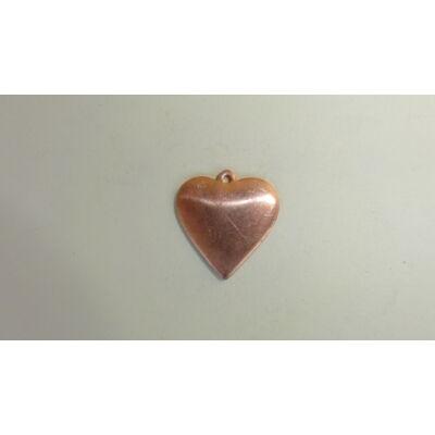 Szív alakú medál