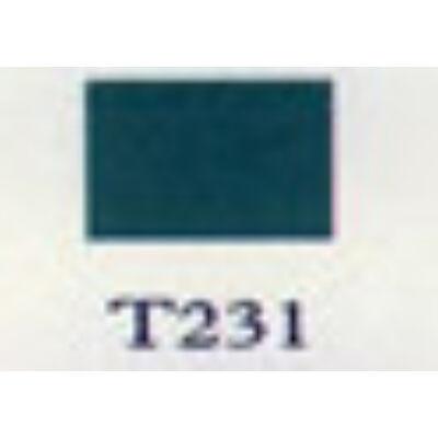 T 231 smaragd zöld transzparens zománc.