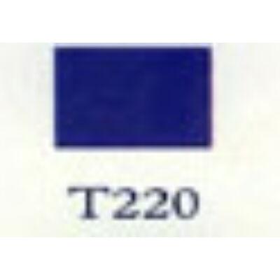 T 220 királykék transzparens zománc.