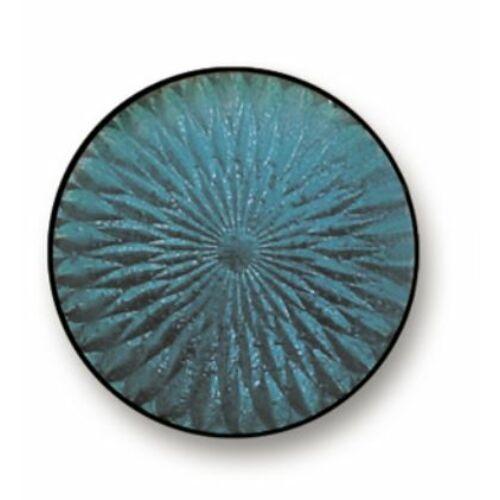 16092 szürkés kék transzparens zománcpor